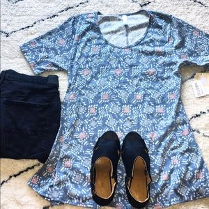 Patterned Perfect T 💙